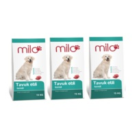 Milo Maintenance Formula Etli Köpek Maması 15 Kg x 3 lü paket (45 Kg)
