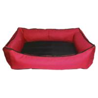 Bronza Su Geçirmez Kedi-Köpek Yatağı No: 2 60x70x15 Kırmızı
