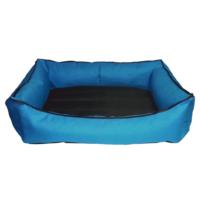 Bronza Su Geçirmez Kedi-Köpek Yatağı No: 4 80x90x15 Mavi