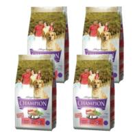 Champion Kuzu Etli & Pirinçli Yetişkin Köpek Maması 3 Kg X 4 Adet