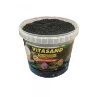 Vitasand Pro-89 Yıkanmış Akvaryum Bitki Kumu Siyah 20kg