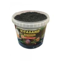 Vitasand Pro-89 Yıkanmış Akvaryum Bitki Kumu Siyah 8,5kg