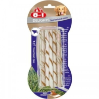 8 in 1 Delights Beef Twisted Sticks - Biftekli Köpek Ödülü 55 g