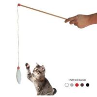 Agira Peluş Kedi Oyun Oltası