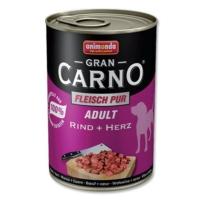 Animonda Gran Carno Sığır Etliyürekli Yetişkin Köpek Konservesi 400 Gr