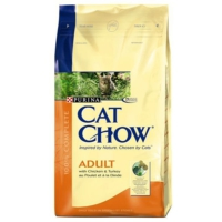 Purina Cat Chow Adult Turkey Chicken - Hindili Ve Tavuklu Yetişkin Kedi Maması 15 Kg