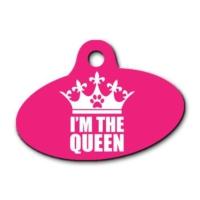 Dalis Pet Tag - I'm The Queen Elips Kedi Köpek Künyesi