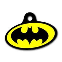 Dalis Pet Tag - Batman Elips Kedi Köpek Künyesi