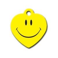 Dalis Pet Tag - Smile Kalp Kedi Köpek Künyesi