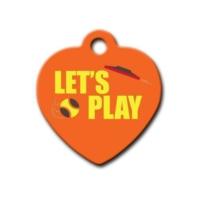 Dalis Pet Tag - Let's Play Kalp Kedi Köpek Künyesi