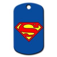 Dalis Pet Tag - Superman Logo Kedi Köpek Künyesi