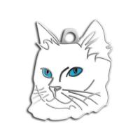 Dalis Pet Tag - Mavi Gözlü Van Kedisi Kedi Künyesi