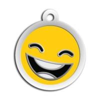 Dalis Pet Tag - Mineli Seri Smile Desenli Künye