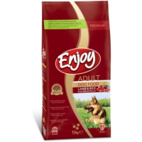 Enjoy Kuzu Pirinçli Yetişkin Köpek Maması 15 Kg