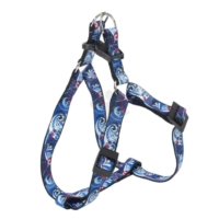 Ferplast Arlecchino P Medium Köpek Göğüs Tasması 2Cm X 42-60Cm Mavi