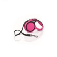 Flexi New Comfort 5M Şerit M Otomatik Köpek Gezdirme Tasması Pembe