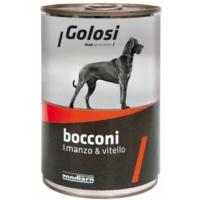 Golosi Bacconi Sığır Ve Dana Etli Köpek Konservesi 400 Gr