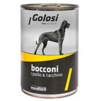 Golosi Bacconi Tavuklu Ve Hindi Etli Köpek Konservesi 400 Gr