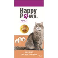 Happy Paws Tavuklu Ve Somonlu Yetişkin Kedi Maması 15 Kg