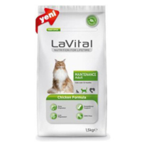 La Vital Cat Maintenance Adult Chicken Formula Yetişkin Kedi Maması 1.5 Kg