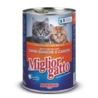 Miglior Gatto Kümes Hayvanli Ve Havuçlu Kedi Konservesi 405 Gr