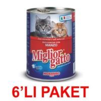 Miglior Gatto Biftekli Kedi Konservesi 405 Gr (6'li Paket)