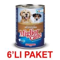 Miglior Cane Av Hayvanli Köpek Konservesi 405 Gr (6'li Paket)