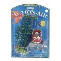 Penn Plax Havalı Fıçı Dekor Ve Plastik Bitki