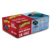 Quik Sb-1102 1 Çıkışlı Sessiz Hava Motoru 3.5W