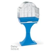 Record Mps Daisy Ayaklı Kuş Kafesi (Krom-Mavi) 56X36X127 Cm