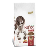Reflex High Energy Biftekli Yetişkin Köpek Maması 15 Kg