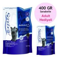 Sanabelle Adult Ostrich Kanatlı Hayvanlı Yetişkin Kedi Maması 2 Kg + 400 Gr
