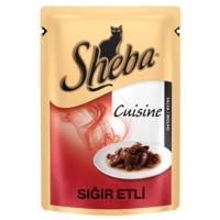 Sheba Cuisine Sığır Etli Konserve Kedi Maması 85 Gr