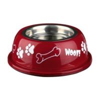 Trixie Köpek Paslanmaz Mama Su Kabı 0.9Lt - 16Cm