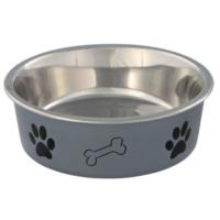 Trixie Köpek Paslanmaz Mama Ve Su Kabı 0.25L - 12Cm