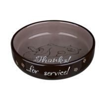Trixie Kedi Porselen Mama - Su Kabı 0,3Lt - 15Cm
