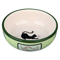 Trixie Kedi Porselen Mama - Su Kabı 0,35Lt - 12,5Cm