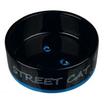 Trixie Kedi Porselen Mama - Su Kabı 0,3Lt - 12Cm Mavi