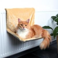 Trixie Kedi Peluş Radyatör Yatağı, Bej 47X30X27Cm