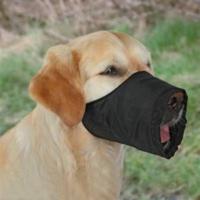 Trixie Köpek Ağızlık S-M , 20 Cm , Siyah