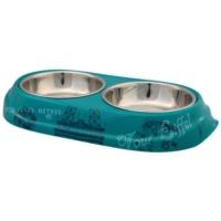 Trixie Köpek Çiftli Mama Su Kabı 2X0,15Lt 10Cm