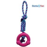 Trixie İpli Diş Bakım Ve Eğitim Köpek Oyuncağı 41 Cm