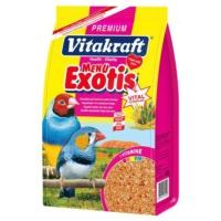 Vitakraft Premium Menü Vital Ballı Egzotik Kuş Yemi 500 Gr