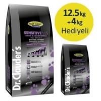 Dr.Clauders Sensitive Plus Ördeklipatatesli Tahılsız Yetişkin Köpek Maması 12,5 Kg+4 Kg