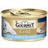 Gourmet Gold Kiyilmiş Ton Balıkli Yetişkin Kedi Konservesi 85 Gr