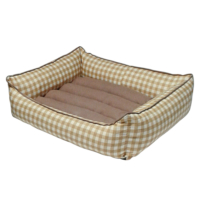Bronza Soft Kedi-Köpek Yatağı No: 3 60x70x15 Bej