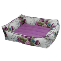 Bronza Soft Kedi-Köpek Yatağı No: 1 40x50x15 Mor