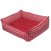 Bronza Soft Kedi-Köpek Yatağı No: 5 80x90x15 Kırmızı