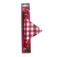 Eastland Fularlı Kedi Boyun Tasması 10mm*30 cm Kırmızı