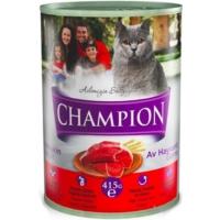 Champion 24 Adet Av Hayvanlı Kedi Konservesi